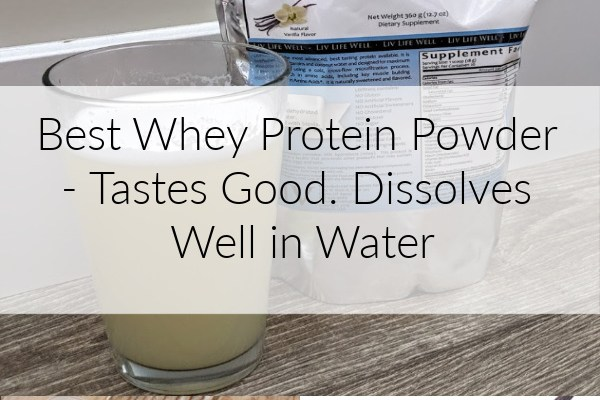 The Best High Protein Low Carb Protein Powder