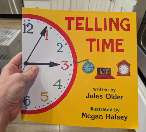 book that teaches kids how to tell time
