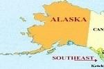 Map in Alaska