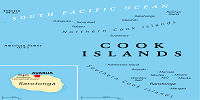the Cook Islands Map