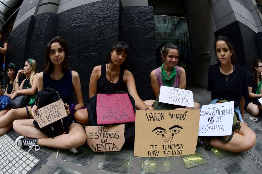 So far this year there were at least 69 femicides. (Photo: Télam).