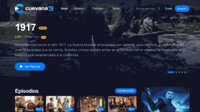 Cuevana3 is one of the places to watch movies for free