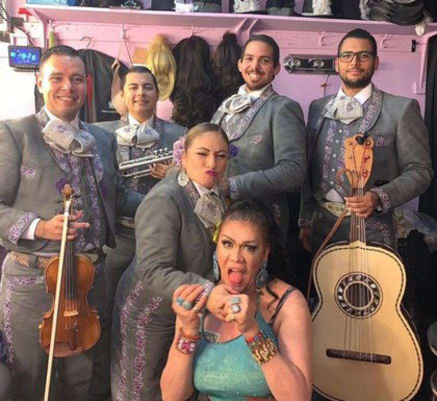 The band has gained popularity over the years (Photo: mariachiarcoiris.com)