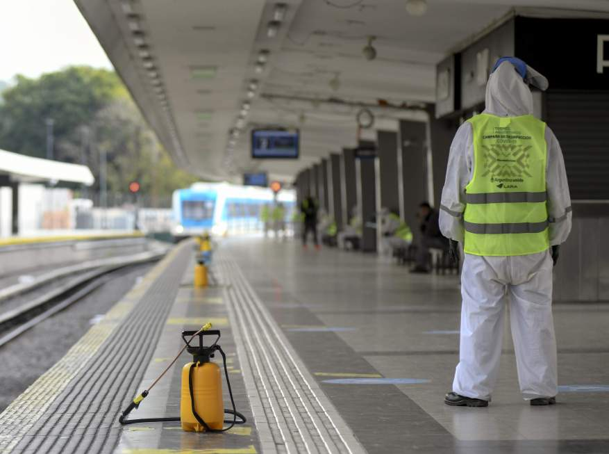 Fumigation services are enabled. (Photo: Noricias Argentinas)