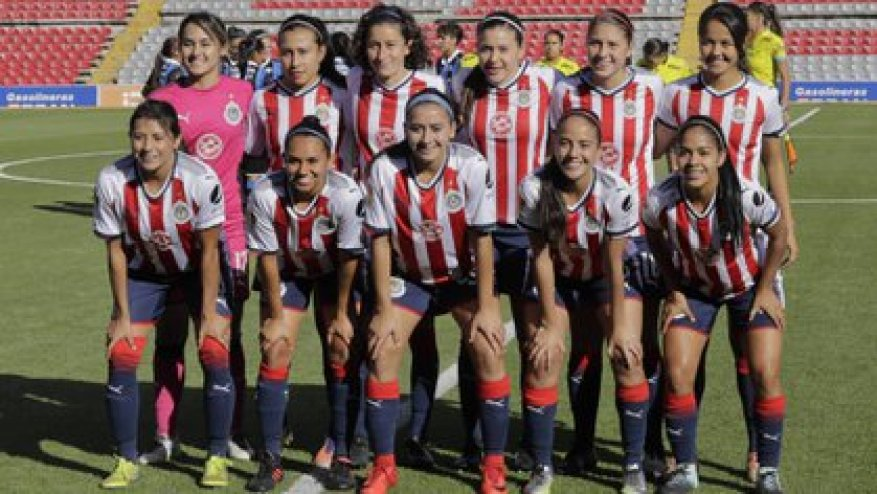 Chivas Femenil reported that there are three positive cases in their squad (Photo: Twitter / @ChivasFemenil)