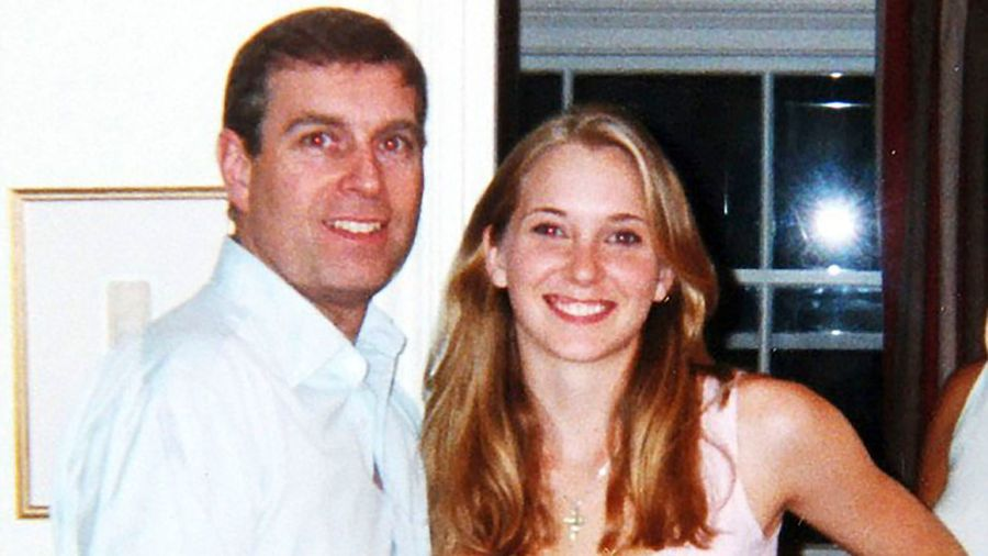 Prince Andrew with Virginia Roberts Giuffre