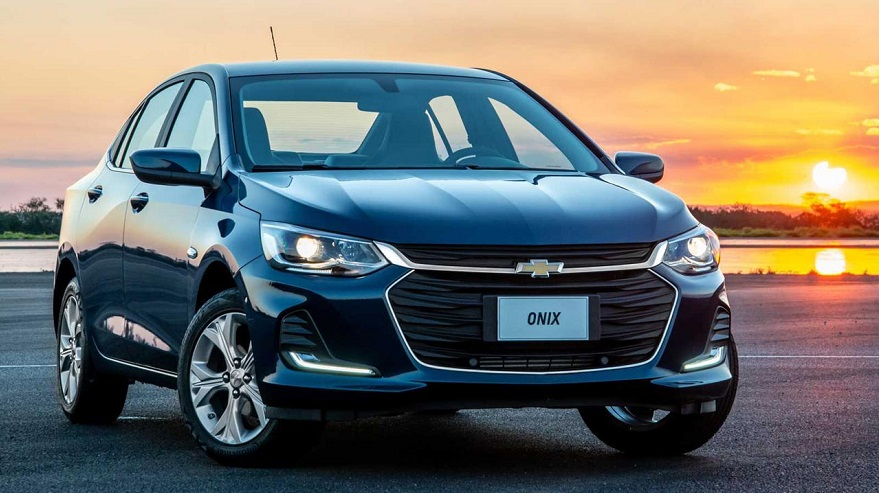 Chevrolet Onix, the best-selling in the car segment.
