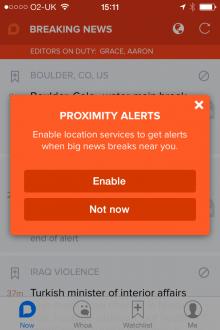 Proximity alerts