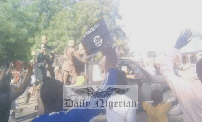 Photo Of  Dapchi Residents Waving At Boko Haram Convoy After Release Of Abducted Girls Emerge