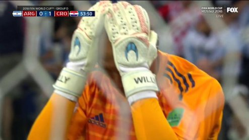 World Cup's Most Embarrassing Goalkeeper Error Dooms Argentina