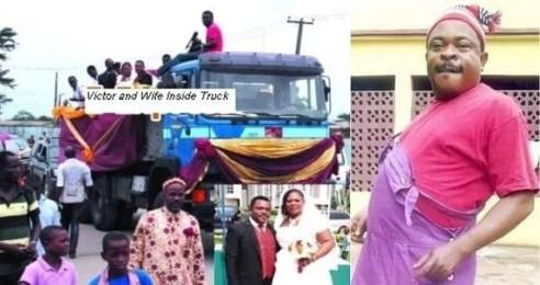 Nollywood Actor Reveals Why He  Uses 'Tipper' As Wedding Vehicle
