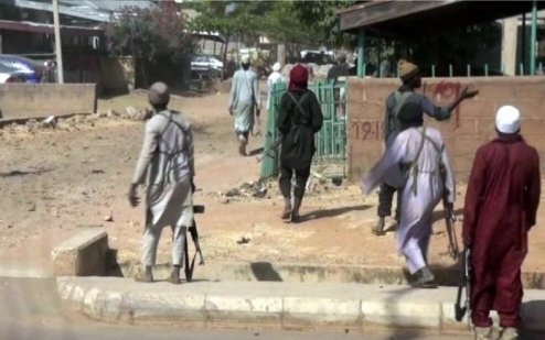 Yobe Community, Buni Yadi  Under Boko Haram Attack