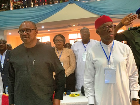 Okowa An Exemplary Leader Determined To Make A Difference — Peter Obi