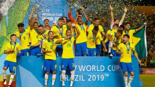 Brazil Clinches U-17 World Cup Title With Dramatic Win Over Mexico