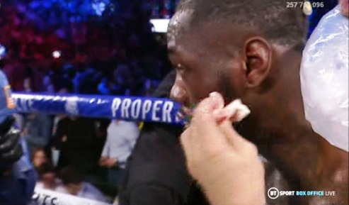 Wilder Rushed To Hospital Over Burst Eardrum after Fury Gruesome Defeat