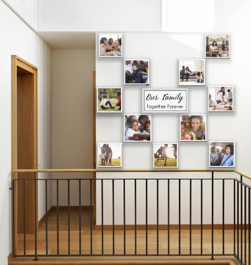 Stickypics: Picture Frames That Creates Your Wall Of Beautiful Memories