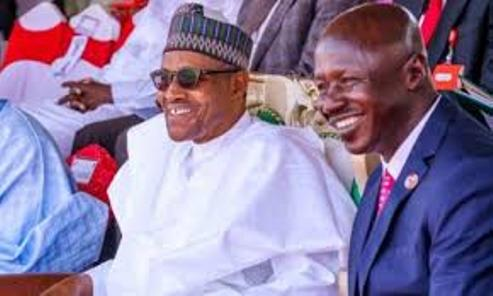 Buhari Officially Confirms Magu's Suspension, Names Umar Gwandu Acting Chairman