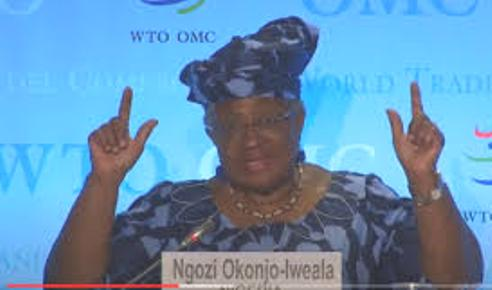 Okonjo-Iweala Set To Be Name WTO DG As Rival Contestant Allegedly Drops Out Of Race