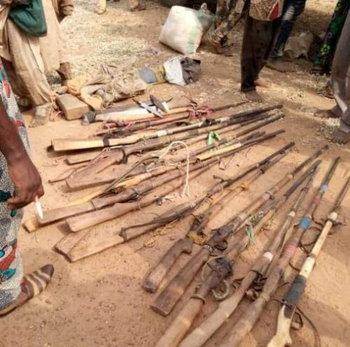 Amotekun Intercepts Truckload Of  Fulani Herdsmen With  Cache Of Arms, Ammunition