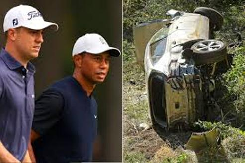 Golf World Reacts To Tiger Woods Auto-Crash In Los Angeles