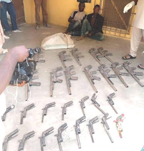 NDLEA Recovers 27 Rifles In Niger, Destroys 5 Hectares Of Cannabis Farm In Ondo