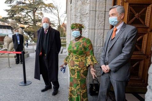 """New WTO DG, Okonjo-Iweala Officially Resumes Office, Says, """"I Am Ready To Go"""""""