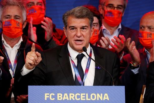 Laporta Emerges FC Barcelona's President, Sends Message To Lionel Messi