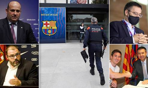 Ex-Barcelona President Arrested  In Connection With Alleged Smear Campaign Against Lionel Messi, Other Players