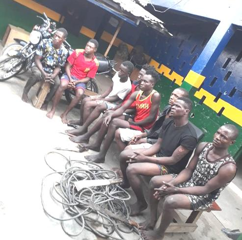 Lagos Police Launch Man Hunt For Traffic Robbers, Nab Twelve With Dangerous