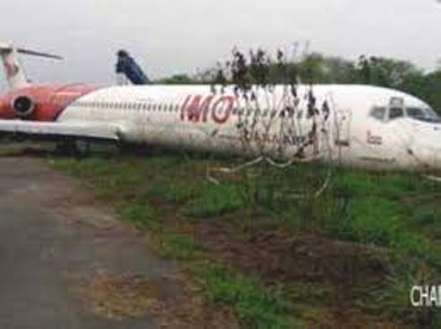 Aircraft Launched By Ex- Imo Gov, Rochas Okorocha Rot Away In A Bush