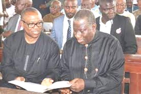 Jonathan Hails Peter Obi At 60, Prays God To Position Him For Loftier Service To Nigeria