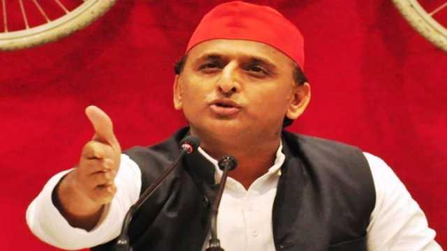 Akhilesh Yadav said yogi government follows the path of Hitler's minister Goebbels