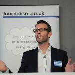 Dennis Mortensen of Visual Revenue speaking at news:rewired