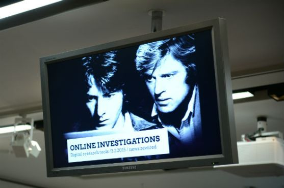 Image from the online investigations session