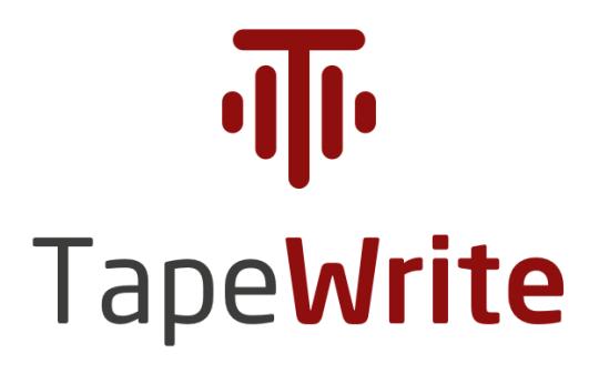 Logo vertical Tapewrite