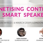 Smart speakers panel