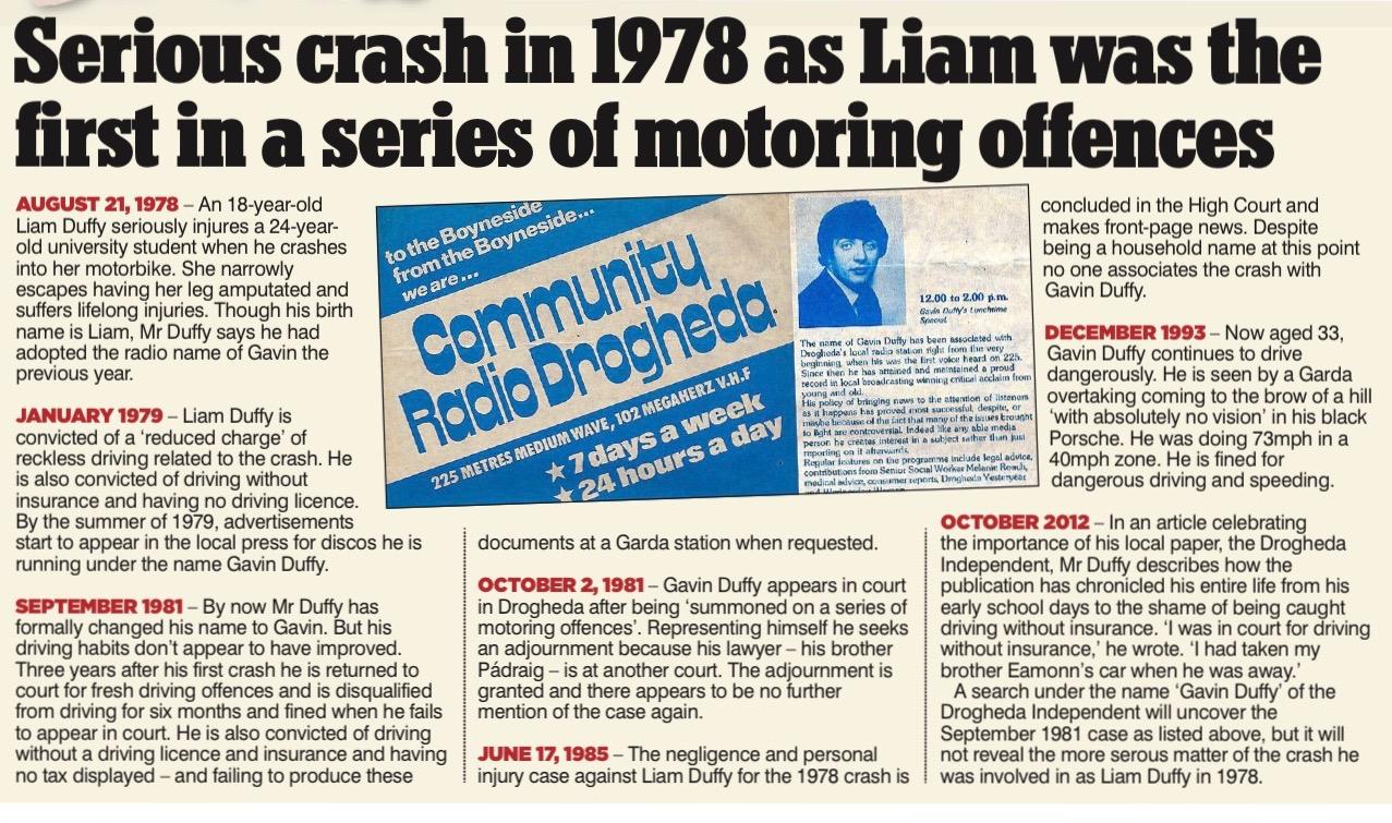 My Remorse Over Horror Car Crash Newsscoops Org Irish Newspaper