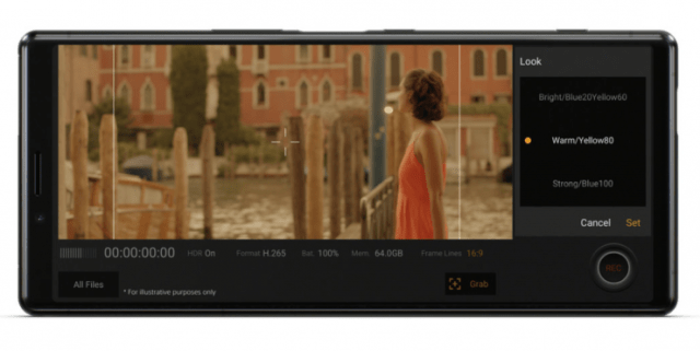 Sony Xperia 1 – world's first 21:9 CinemaWide 4K HDR OLED display smartphone