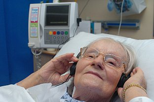 News Shopper: Agnes Victoria Mack, 92, listens in