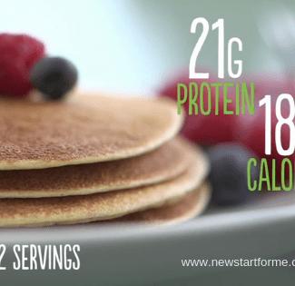 Recipe: Cookies 'n Cream Protein Pancakes, breakfast