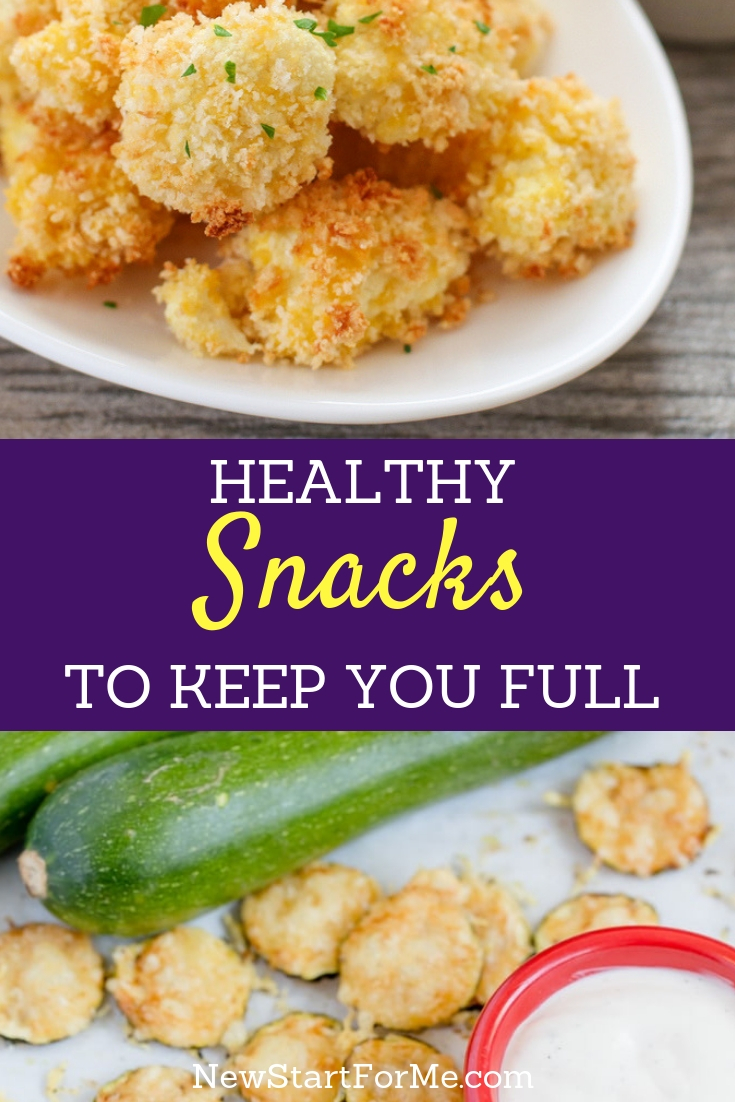 There is no reason to stop snacking altogether to get healthier or lose weight, instead, enjoy healthy snacks and keep on going.