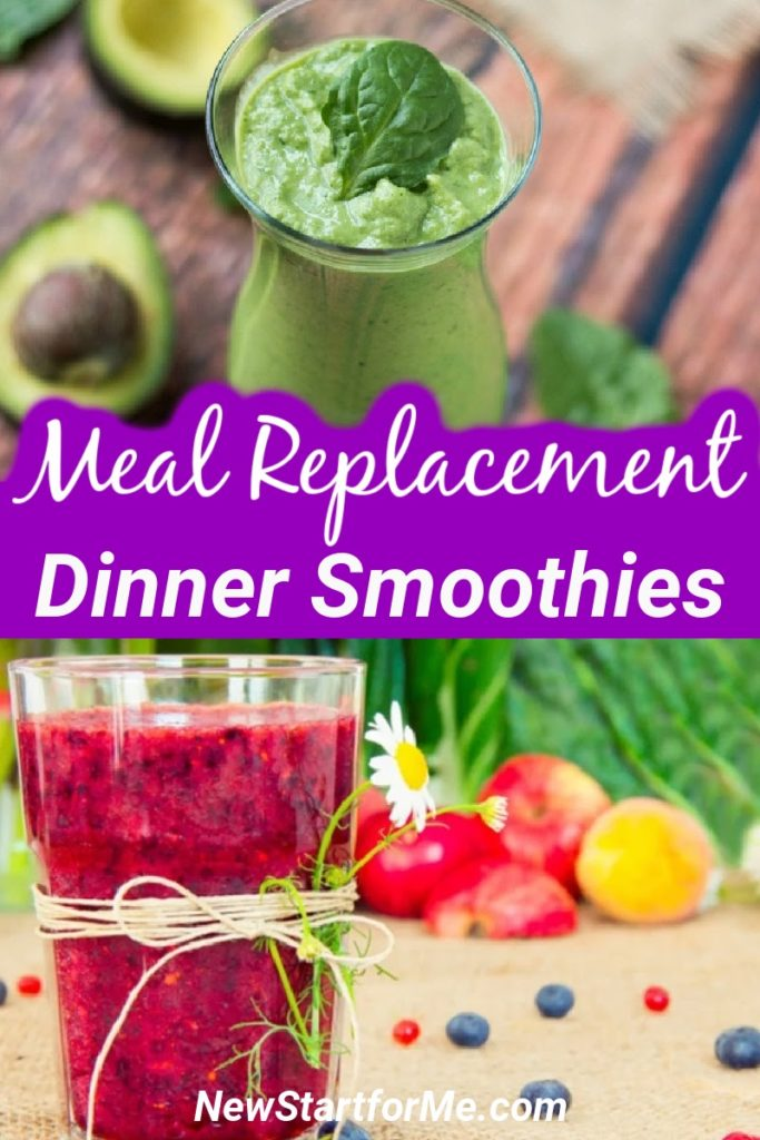 Use healthy dinner smoothies for meal replacement and continue to give your body the nutrients it needs to help you lose weight. Meal Replacement Smoothies | Smoothies to Replace Dinner | Healthy Smoothie Recipes | Weight Loss Recipes | Healthy Weight Loss Recipes | Weight Loss Tips | Tips for Losing Weight #smoothie #mealreplacement