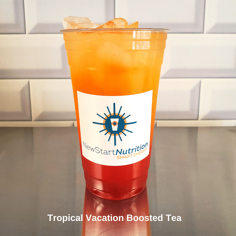 Beach Lovers Boosted Tea Tropical Vacation Tea in a Cup