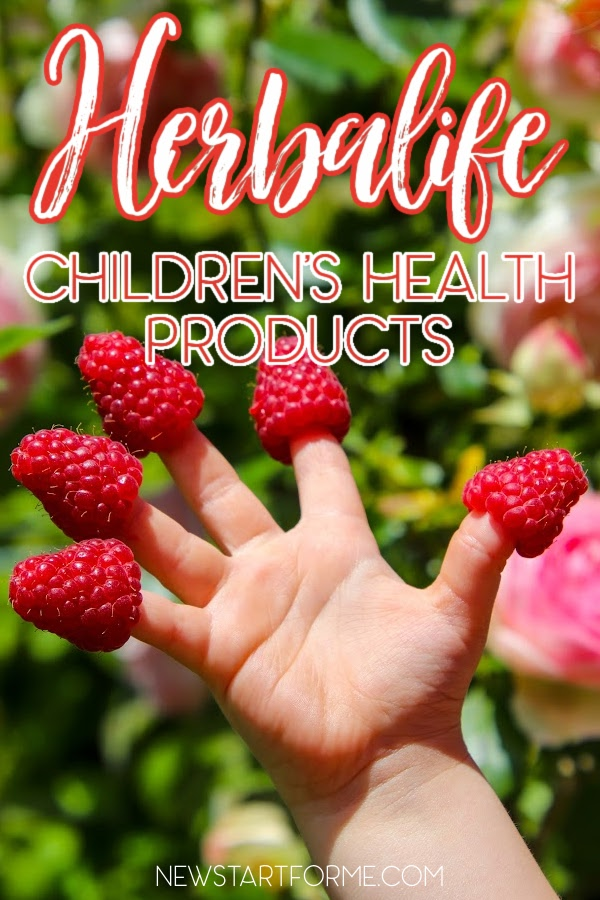 Herbalife children's health products are made of natural ingredients to help keep children growing and healthy.