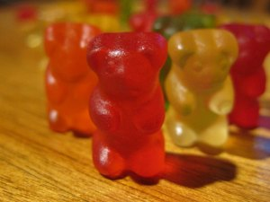 Gummy bears. Photo: Brandon Menth