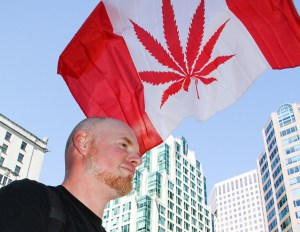 Canada legalised cannabis for recreational usage on October 17 2018. Photo: Global Marijuana March 2013 in Vancouver