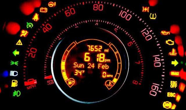 Araç İkaz ve Uyarı Lambaları ve Anlamları