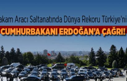 """DESAM """"Makam Aracı Saltanatında Dünya Rekoru Türkiye'nin!""""…!"""