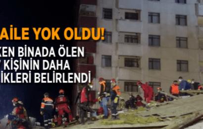İstanbul'da Çöken Binada Bir Aile Yok Oldu