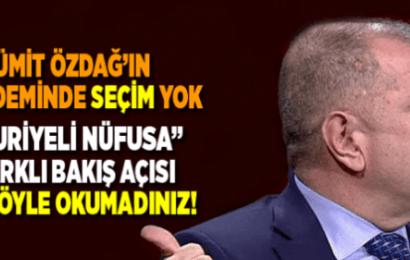 Ümit Özdağ: Suriyelilerin  Türkiye İçin Tehdit Oluşturduğunu Açıkladı